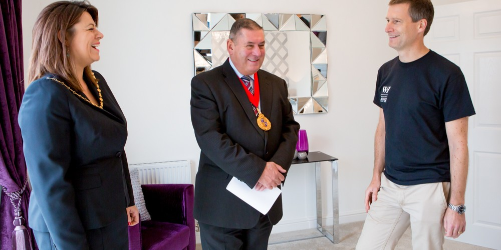 Mayor & Mayoress of Walsall