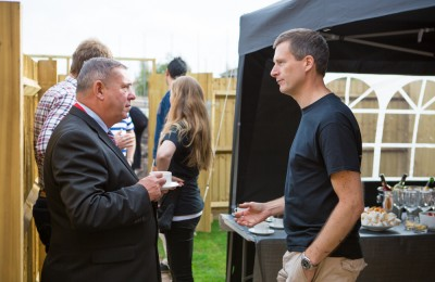 Mayor of Walsall with Andy Evans, Wonderful Homes MD
