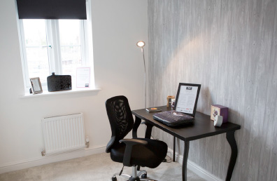 Office at a show home