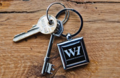 Keys on a Wonderful Homes keyring