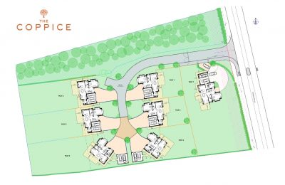 The Coppice Site Plan