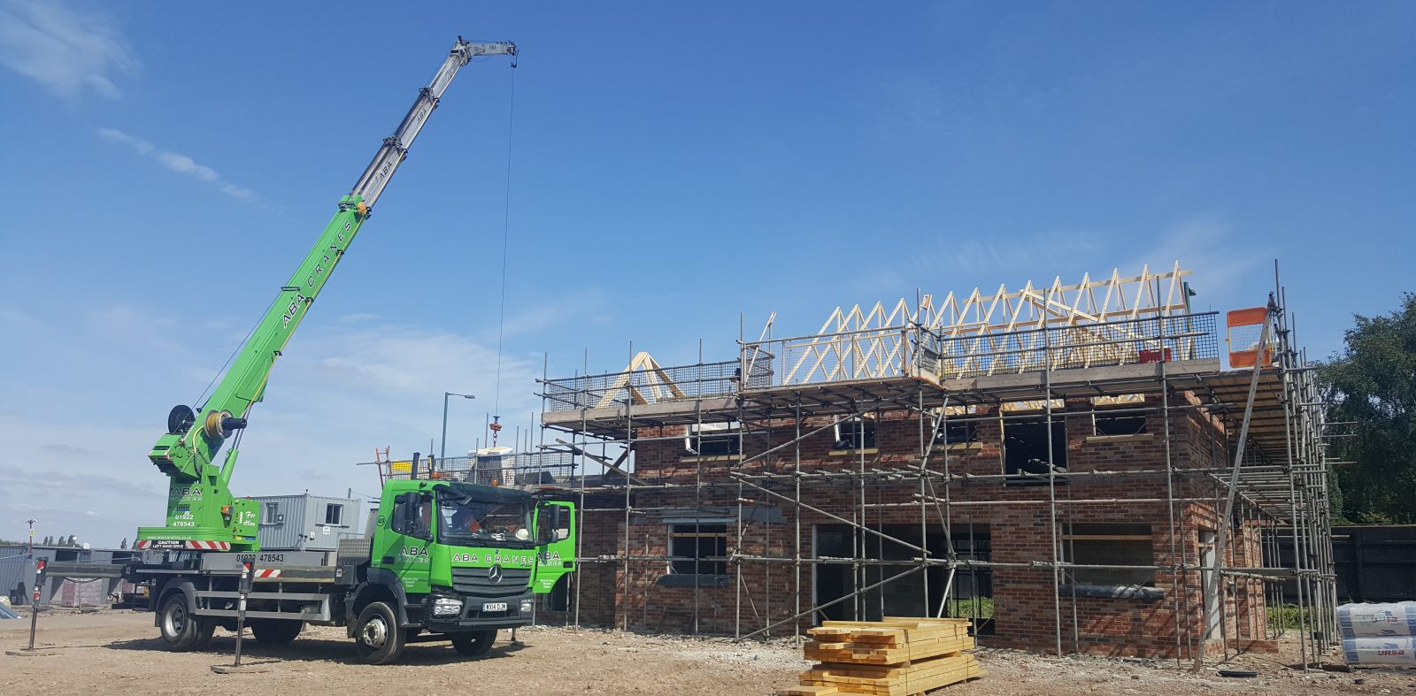 The Coppice Plot 7 Roof Trusses