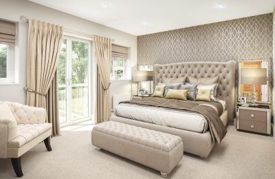 The Coppice Master Bedroom Suite View 1