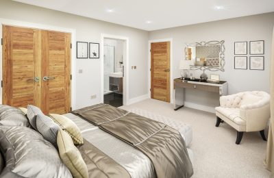 The Coppice Master Bedroom Suite View 2