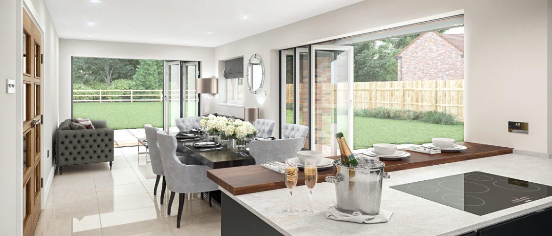 Plot 7 - Willow House - Kitchen View 2