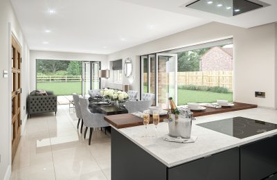 Plot 7 - Willow House - Kitchen View 2