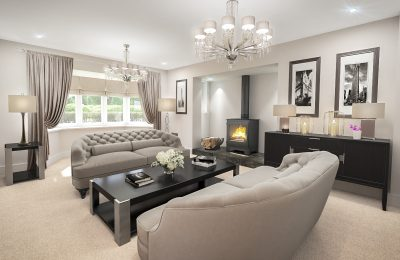 The Coppice Living Room