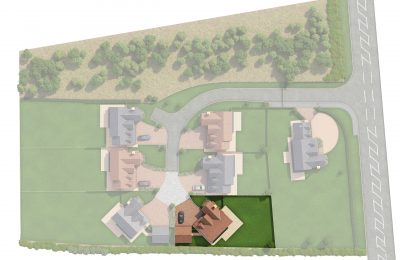 The Coppice - Plot 3 - Sycamore House - Site Plan
