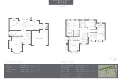 The Coppice - Plot 2 - Chestnut House - Floor Plans