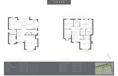 The Coppice - Plot 4 - Larch House - Floor Plans