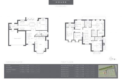 The Coppice - Plot 5 - Hazel House - Floor Plans