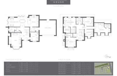 The Coppice - Plot 7 - Willow House - Floor Plans