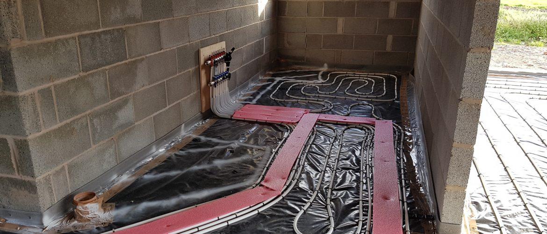 Plot 7 The Coppice Underfloor Heating Manifold
