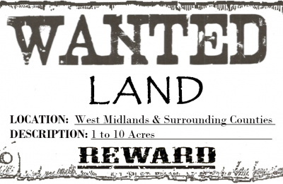 Land Wanted West Midlands